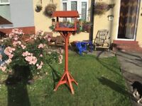Bird Table with feeders