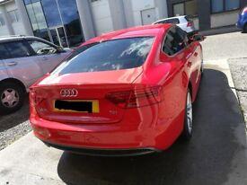 Audi A5 Sline 2l TDI in Misano Red