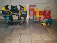 2 x imaginext playsets Excellent condition