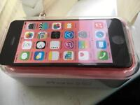 iPhone 5c Unlocked Pink Immaculate condition boxed