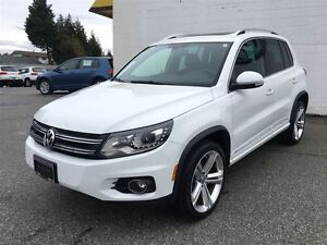 2015 Volkswagen Tiguan Highline 4Motion w/ Tech & R-Line Pkg.