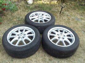 """19 """" Inch Genuine Porsche Alloy Wheels Cayyene Audi Q7 BMW Volkswagen Toureg SUV 19inch Wheel"""