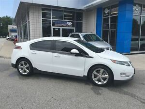2014 Chevrolet Volt Electric Leather Seats Polished Wheels Rear