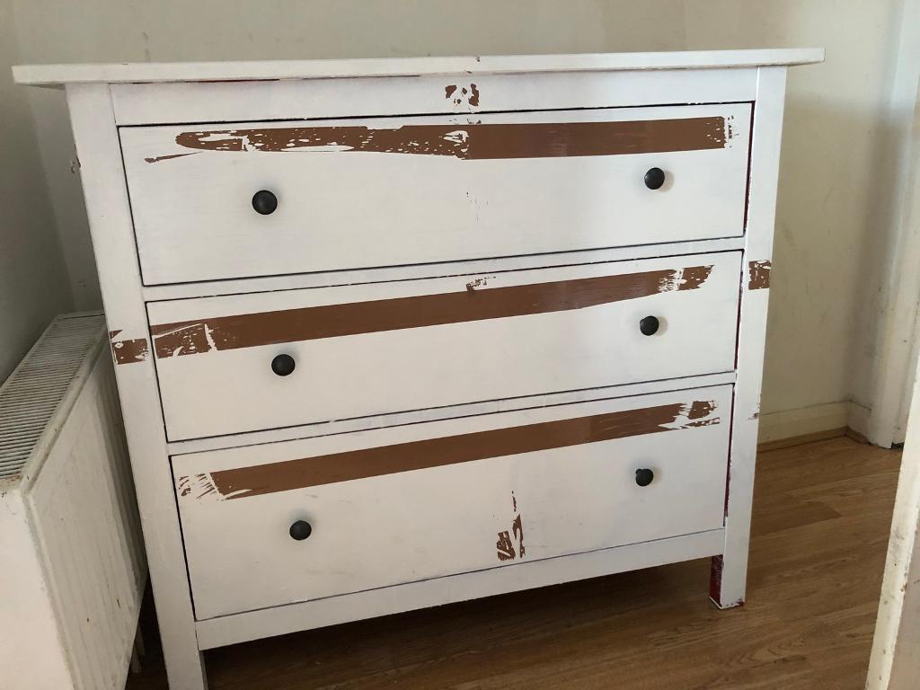 ikea hemnes 3 drawers chest | in hackney, london | gumtree