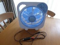 12v DC Fan | Portable Cooling Fan