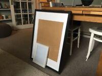 Two ikea frames