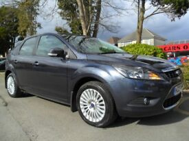 FORD FOCUS 2.0 TDCI TITANIUM 2008 FSH 9 STAMPS NEW M.O.T HPI CLEAR READY TO DRIVE AWAY TODAY