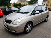 Toyota Corolla Verso 1.8 VVT-i T3 5dr 12 MONTHS MOT PRIVATE CAR HPI CLEAR