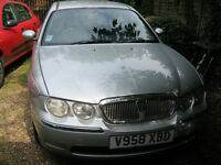 ROVER 75 1999 2.0 V6 MANUAL Silver - MOT JAN 2018