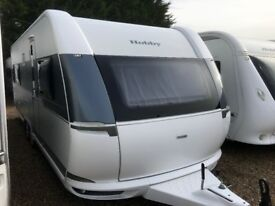 Hobby Caravan 660 Wfu Prestige (2015) Full Size Separate Shower/Toilet. Like Tabbert/Fendt