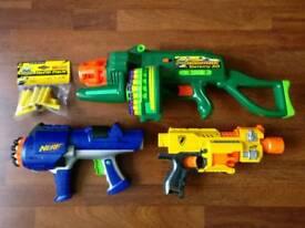 Nerf Gun / Air Blasters Collection