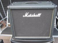 Marshall 1 by 12 inch Guitar speaker Cab ,Model AVT112 ,8ohm 100 watt RMS