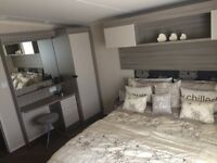 Luxuary Carvavan for rent at Flamingoland Theme Park, Sleeps 6 people!