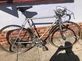 Vintage Peugeot race bicycle