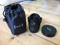 Opteka 6.5mm f3.5 HD Aspherical Fisheye Lens with Removable Hood for Nikon