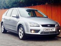 FORD FOCUS 1.6 ZETEC 2005 71k LOW MILEAGE MOT CLEAN&TIDY PRICED TO SELL