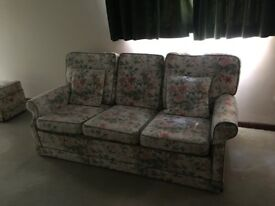 3 piece sofa and chairs