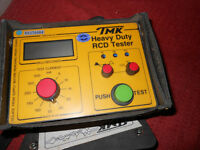 Heavy duty RCD tester &loop impedance tester