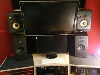 pair of KRK V6 MKII active studio monitors