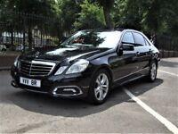 PCO Black Mercedes E250 Avantgrade Diesel Automatic