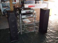 Roksan/Monitor Audio quality sound system.