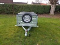 New Trailer 6x4 double broadside £650 inc vat