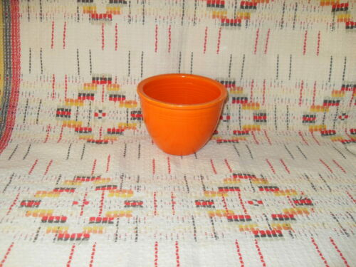 """RADIOACTIVE RED"" FIESTA #1 MIXING BOWL    -FIESTAWARE    -                  t9"
