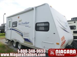 2010 JAYCO Jay Feather Sport 199 Travel Trailer