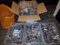 500+ Custom Lego Minifigures - Marvel, Joker, Thor, Wolverine + more. Job lot.