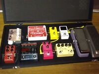 Diago showman pedalboard