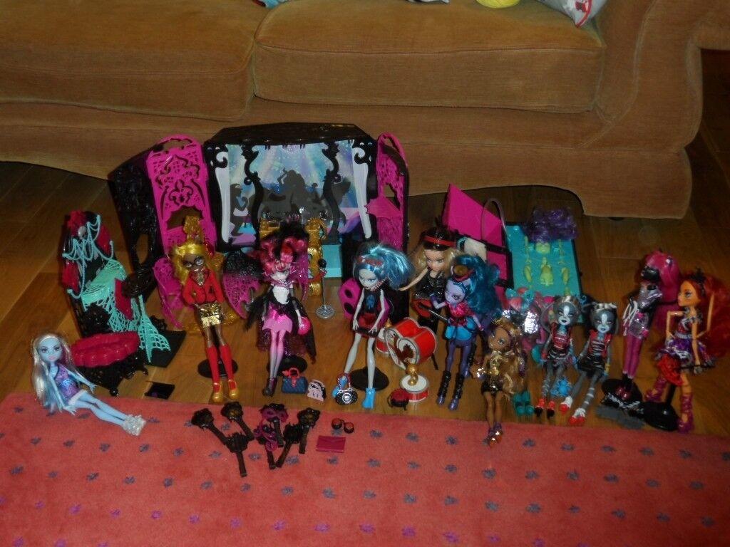 Disco Playset Create A Monster Design Lab 11 Dolls