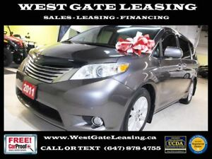 2011 Toyota Sienna LIMITED AWD   DVD   SUNROOF   LEATHER  