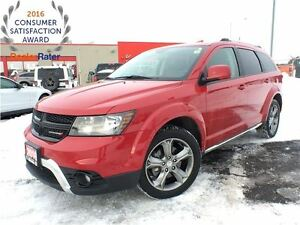 2016 Dodge Journey CROSSROAD**7 PASSENGER**ALL WHEEL DRIVE**LEAT