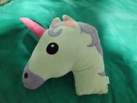 Unicorn pillow unused