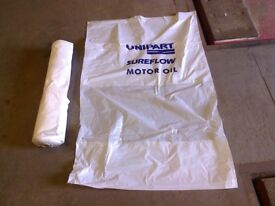Unipart Disposable Plastic Car Seat Covers