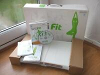 Wii Fit board + Wii Fit game Boxed