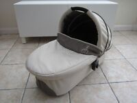 iCandy Cherry Carrycot / Pram Attachment in Toffee Fudge