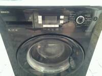 Beko washing machine 8k black as new