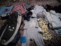 Bundle of boy's baby clothes (9-12 months)