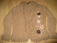 Oui knitwear/jacket medium size