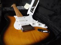 FENDER JAPAN 2002 ST54 - 95 STRATOCASTER - RARE - AS NEW - LACQUER.