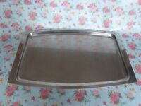 Vintage 'Stelton' stainless steel tray