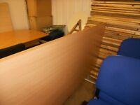 Folding office desk/table