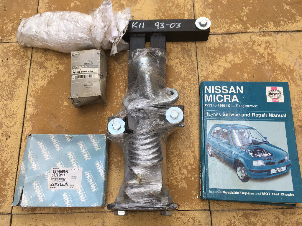 Nissan Micra K11 (1992–2003) Tow Bar, Air & Fuel Filter and