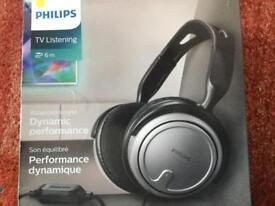 PHILIPS TV / HI FI DYNAMIC PERFORMANCE HEADPHONES