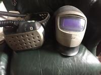 3m speedglas air fed welding helmet