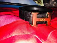 Hermes Genuine Leather belt black Brand new