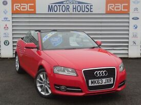 Audi A3 TDI SPORT (£30.00 ROAD TAX) FREE MOT'S AS LONG AS YOU OWN THE CAR!!! (red) 2013