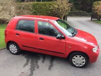 2005 Suzuki Alto 1.0i full mot £30 road tax