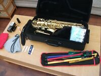 Superb Yamaha (YAS 275) Alto Saxophone/ Saxaphone/ Sax with Lots of Extras - Excellent Condition